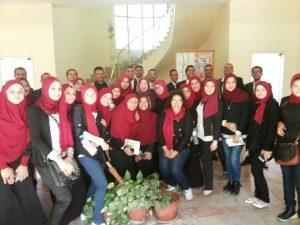 المتطوعين من جامعة المنيا