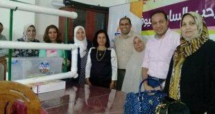 """تسليم مشروع """"الاكوابونيك""""-اجهزة الزراعه المائيه بمحافظة الفيومد/مايا مرسي-المجلس القومي للمرأة"""